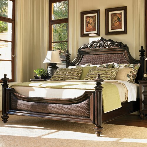 Tommy Bahama Home Royal Kahala Four Poster Harbour Point Bed