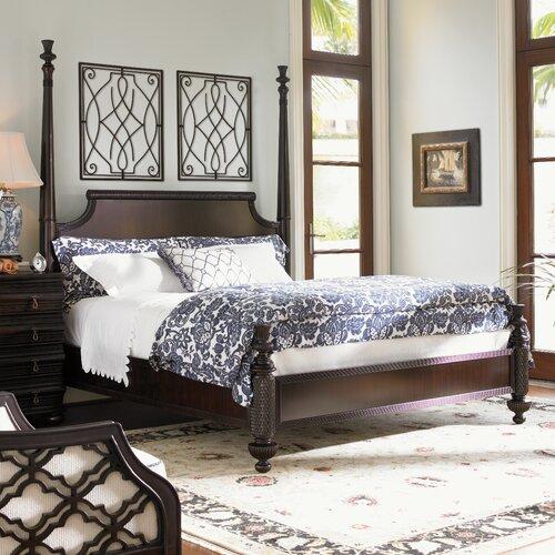Tommy Bahama Home Royal Kahala Panel Bed