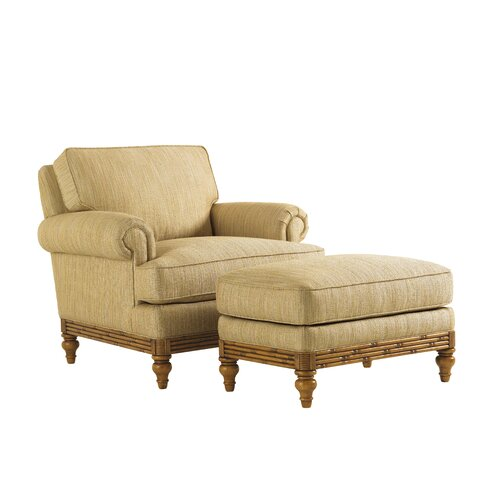Tommy Bahama Home Beach House Golden Isle Ottoman
