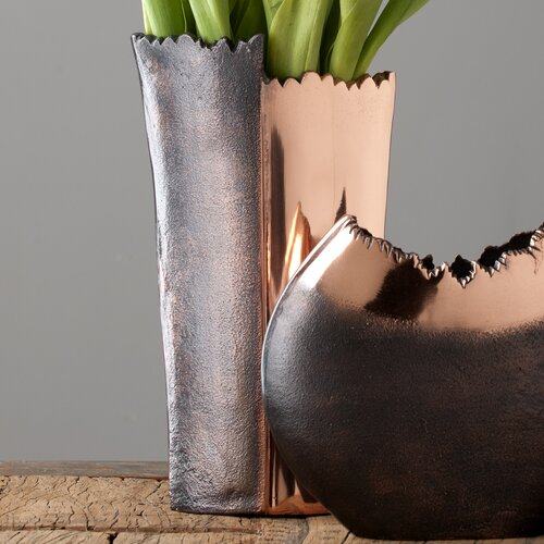 Shiraleah Bark Tall Vase