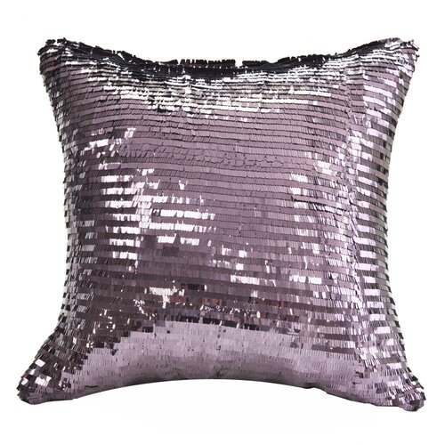 Nygard Home Mystic Sequin Square Pillow