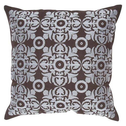 India's Heritage Pure Embroidery Linen Pillow