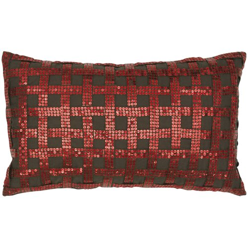 India's Heritage Sequins Silk Pillow
