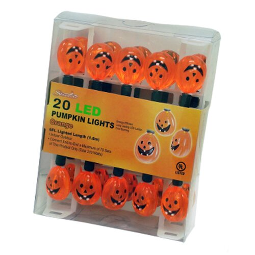 20 Light Pumpkin