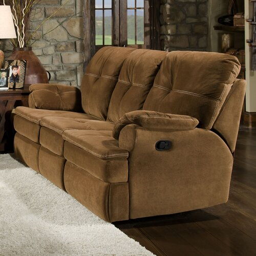 Oak Reclining Sofa