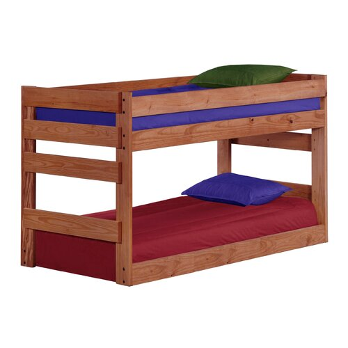 Chelsea Home Twin Over Twin Standard Bunk Bed Reviews Wayfair