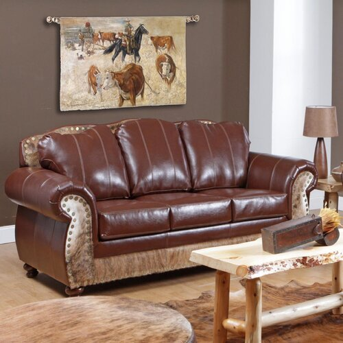Saddle Me Up Leather Sofa