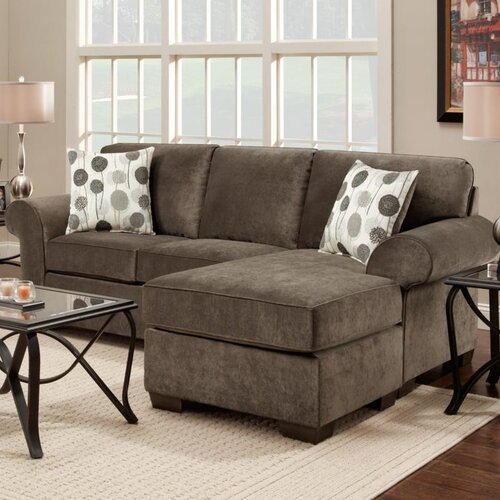 Chelsea Home Worcester Sofa Chaise Sectional
