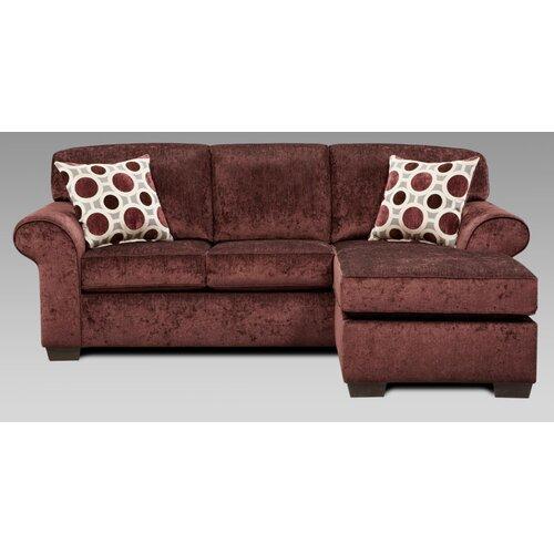 Chelsea Home Worcester Queen Sleeper Sofa
