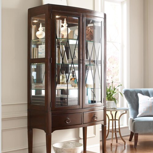 Modern Heritage Convex China Cabinet