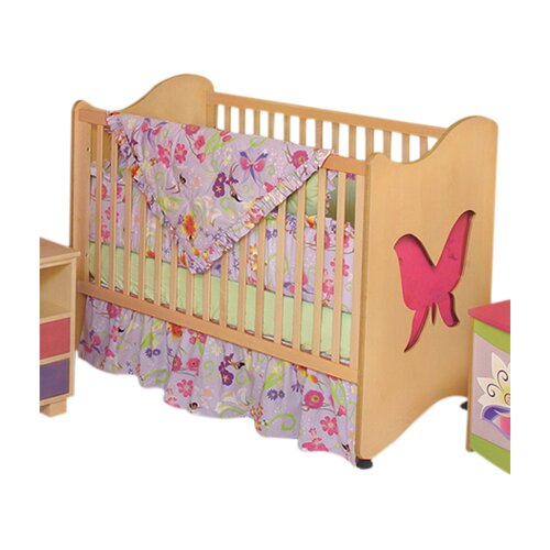 Room Magic Magic Garden Butterfly 2-in-1 Convertible Crib