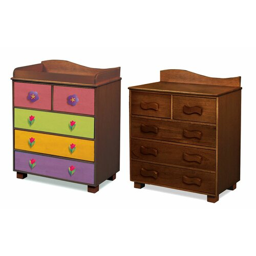 Room Magic Magic Garden 5-Drawer Chest