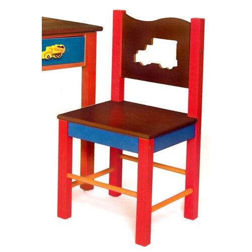 Room Magic Boys Like Trucks Desk Chair
