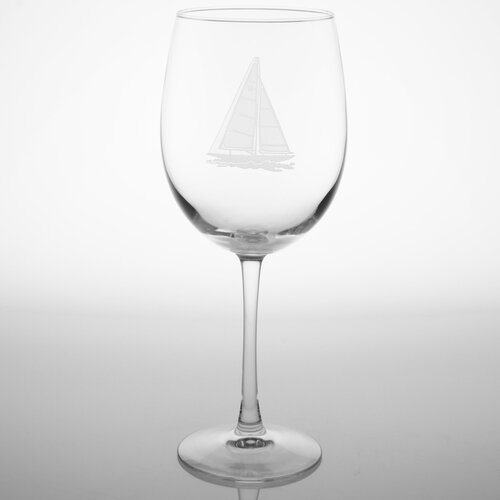 Rolf Glass Sailboat Dessert Wine Glass