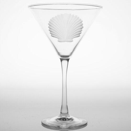 Seashell Martini Glass (Set of 4)