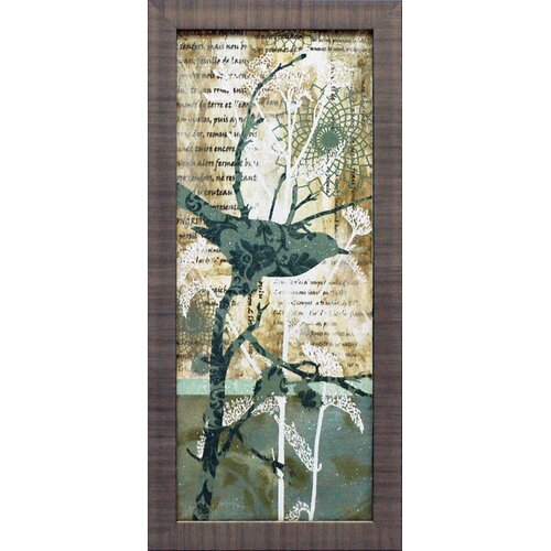 Winter Birds I Framed Graphic Art
