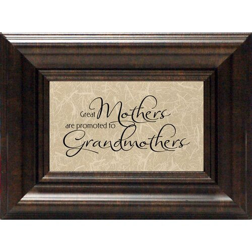 Great Mothers Framed Textual Art