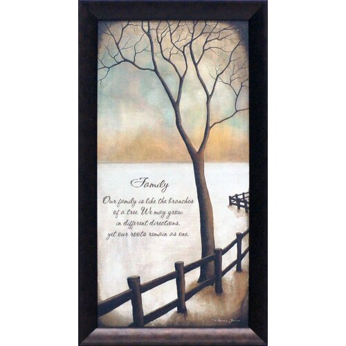 Artistic Reflections Family Framed Graphic Art