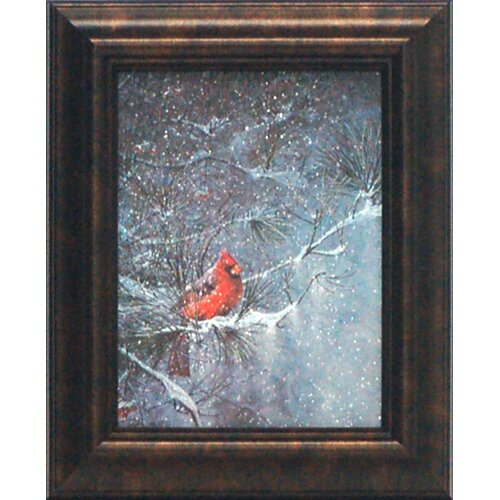 Winter Friends Framed Painting Print