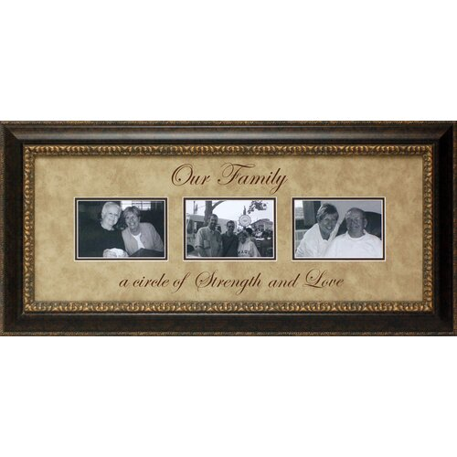 Our Family…a Circle of Strength Picture Frame