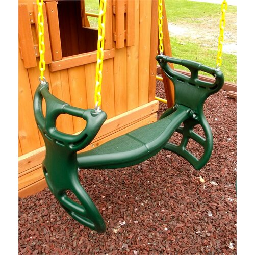 Eastern Jungle Gym Heavy Duty Plastic Horse Glider with Coated Chain