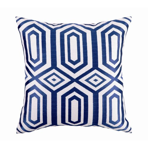 Sis Boom by Jennifer Paganelli Hotel Soho Linen Embroidered Pillow
