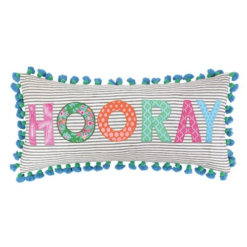 Sis Boom by Jennifer Paganelli Hooray Cotton Pillow