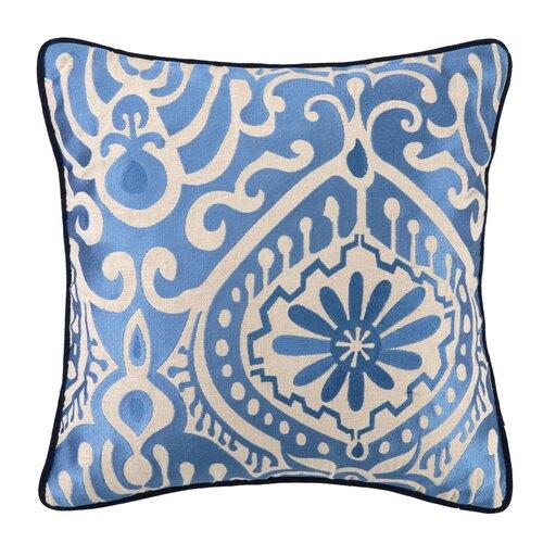 Citadel III Linen Embroidered Pillow