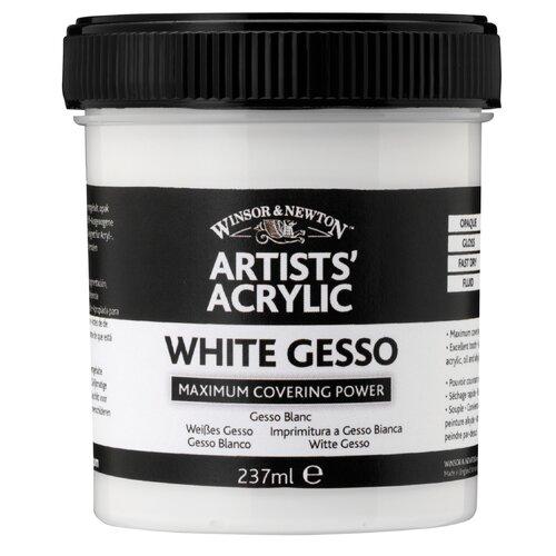Winsor & Newton Artists' Acrylic White Gesso Medium Jar