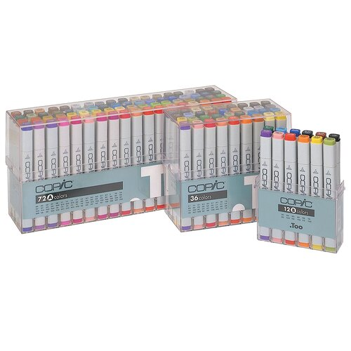 Copic Original 12 Piece Basic Marker Set
