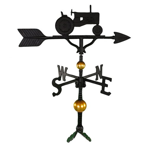 Montague Metal Products Inc. Deluxe Tractor Weathervane