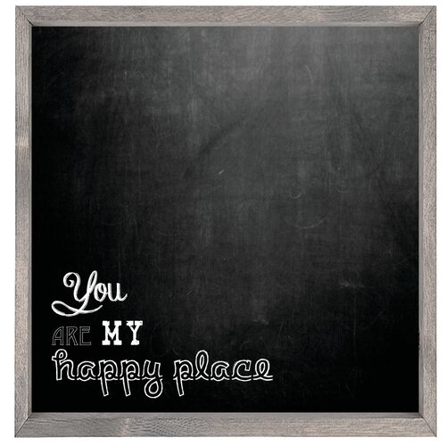 Magnet Art Print You Are My Happy Place Framed Wall Art
