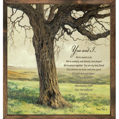 Forest Creations Magnet Art Print You and I Framed Wall Art
