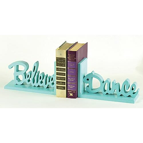 Forest Creations Believe Dance Book Ends