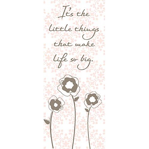 It's the Little Things Kids Canvas Art