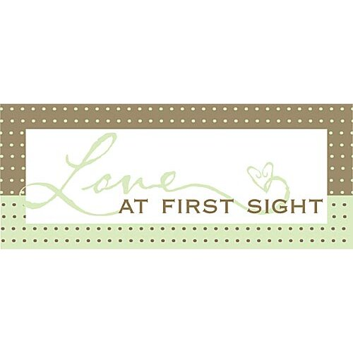 Love At First Sight Kids Textual Art on Canvas