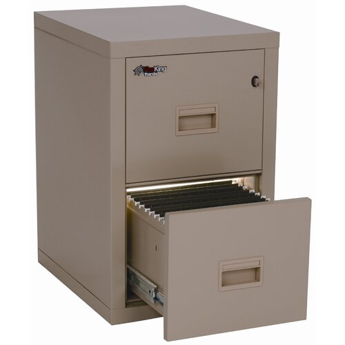 FireKing 2-Drawer Turtle File