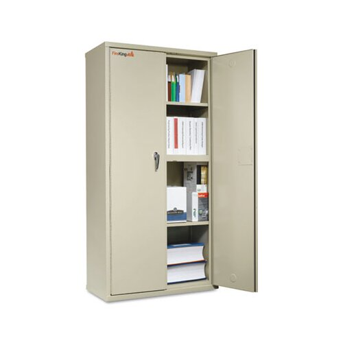 "FireKing 36"" Storage Cabinet"