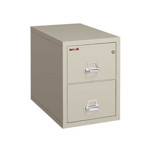 FireKing 2-Drawer Vertical Letter File