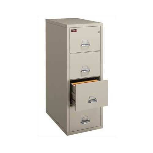 FireKing 4-Drawer Legal Protection File