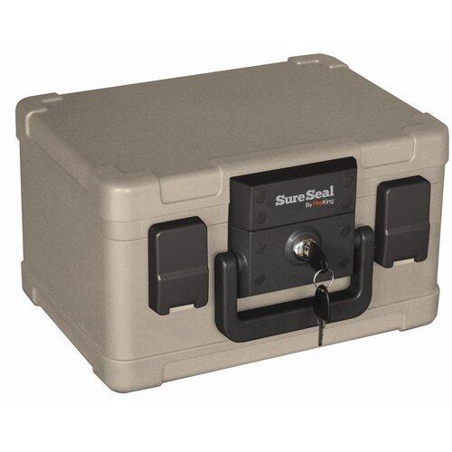FireKing Fireproof SureSeal Key Lock Safe Box