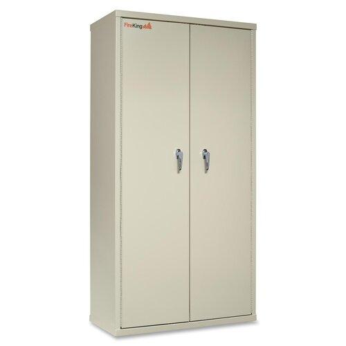 "FireKing 36"" Storage Cabinet"