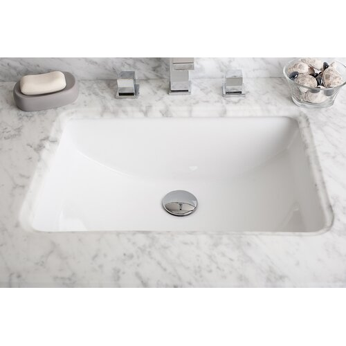 IMG Rectangular Undermount Bathroom Sink