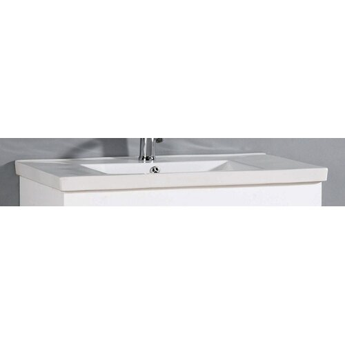 "IMG Roxy 32"" Ceramic Vanity Top with Integrated Bowl"