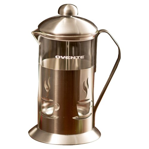 French Press Coffee Maker Images : Ovente Stainless Steel French Press Coffee Maker & Reviews Wayfair