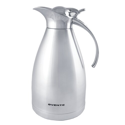 Ovente TSS15 Double Wall Vacuum Jug Carafe