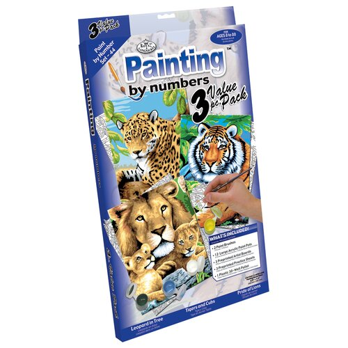 Royal & Langnickel Painting by Numbers Cat Junior Value