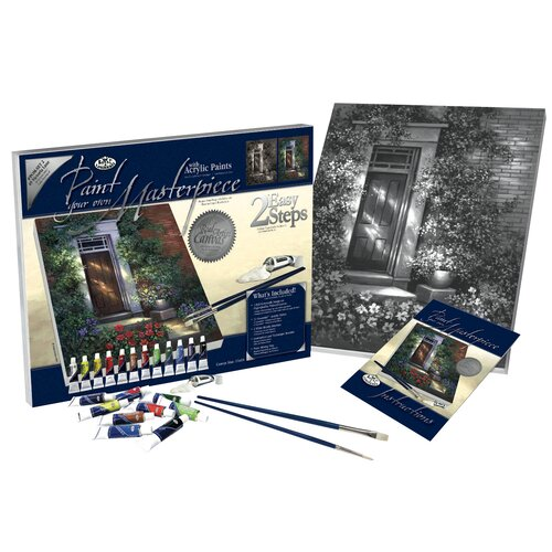 Royal & Langnickel Paint Your Own Masterpiece Romantic Largehthouse Set