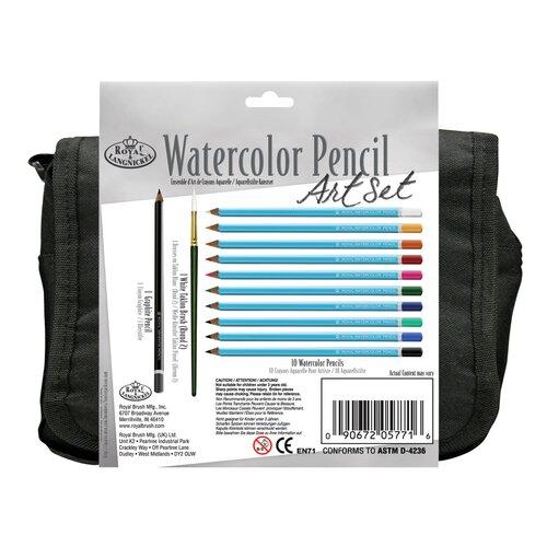 Royal & Langnickel Watercolor Pencil Satchel Art Set