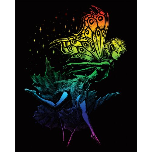 Royal & Langnickel Rainbow Dancing Fairy Art Engraving